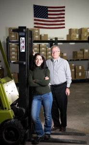 Elise Vaughn and Fraij Yapoujian of Reliable Equipment Sales