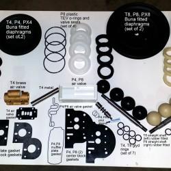Wilden Pump Parts Kits