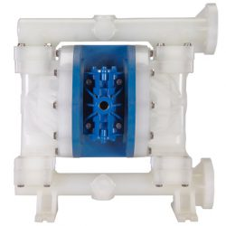 FTI Air pump FT10P air-operated, double diaphragm pump in polypropylene