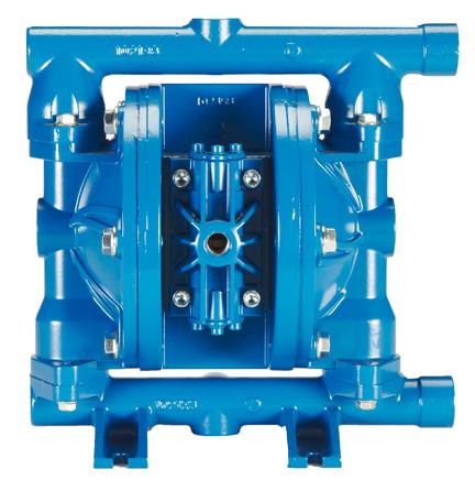 Finish Thompson FTI Air FT05A double diaphragm pump in aluminum