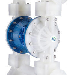 Finish Thompson FTI Air FT20P polypropylene pump and FT20V in PVDF