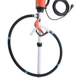 Flux drum pump concentrated acids